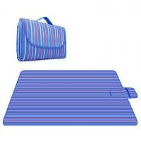 Quality Oxford Fabric Outdoor Sand Proof Beach Blanket Custom Logo Acceptable for sale