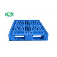 Quality Eco - Friendly Virgin Hdpe Steel Reinforced Plastic Pallets Heavy Duty For Industrial for sale