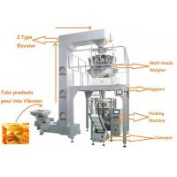 Quality Easy Operation Multi Heads Weigher Packing Machine / Food Packaging Equipment for sale