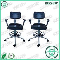 China HZ-33761AF ESD Safe Chair With Foot Rest on sale