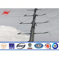 Best ASTM A 123 Octagonal Transmission Electric Power Pole For Power Distribution Line wholesale
