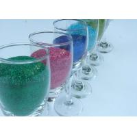 Buy cheap PET Chrismas Decoration Screen Printing Glitter Powder / Cosmetic Chunky Glitter from wholesalers