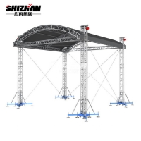 Quality Fashion Show Exhibition Booth DJ Aluminum Roof Truss 200x200mm for sale