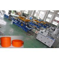 Quality Qingdao Single Wall Corrugated Pipe Production Line , Corrugated Pipe Extrusion Machinery for sale