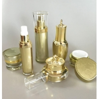 Quality Luxury Acrylic Cosmetic Plastic Packaging For Moisture Lotion Cream Serum for sale