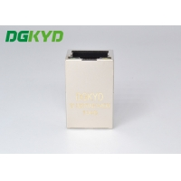 Quality Shielded Tab Up Gige Cat6 RJ45 Single Port PBT Housing for sale