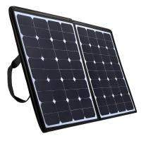 China High Efficiency Foldable Solar Panel Charger 100w For Laptop Tablet And Mobile Phone on sale