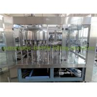 Quality Normal Pressure 350ml 12Oz  3000BPH Automatic Bottle Filling Machine for sale