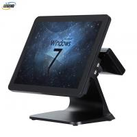 Quality Plastic Case PC POS System 1024 X 768 Pixels Resolution With Aluminium Alloy Stand for sale
