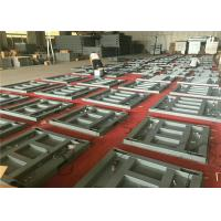 China 4 Load Cells Low Profile Floor Scale , Warehouse Floor Scale External Calibration on sale