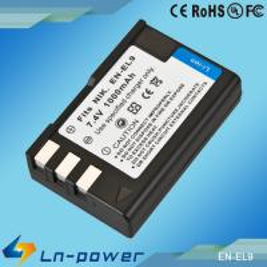 Quality Replacement Digital Camcorder Battery for NIKON Camera EN-EL9 for sale