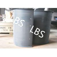 Quality Hydraulic / Electric Winch Drum Lebus Sleeve 100-5000M Rope Capacity for sale