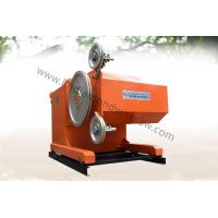 Buy cheap New hydraulic cutting marble rock diamond wire saw machine 75KW from wholesalers