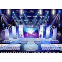 China Rental led display 500 * 500mm / 500 * 1000mm high difinition die - casting alumium cabinet on sale