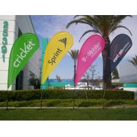China Outdoor promotion flag banner on sale