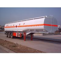 China Ray Star 13 m 30.6 t 3-axis tanker semi-trailer SNJ9400GYY on sale