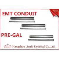 """Quality Professional 1/2"""" 3/4"""" EMT Electrical Conduit with 1.07mm-1.65mm Thickness for sale"""