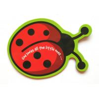 Quality Ladybird Cute Personalized Fridge Magnet For Children , Rubber Refrigerator Magnets for sale