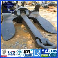 Quality U.S Navy Stokless Anchor with KR LR BV NK DNV ABS Certification for sale