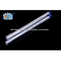Quality Galvanized Steel BS4568 Conduit / BS4568 TUBE / GI PIPE With Protection Cap for sale