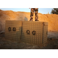 Buy cheap Sand Filled Recoverable 50x50mm Military Hesco Barriers from wholesalers