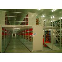 Best Multi Tier Storage Rack Supported Mezzanine Light Grey Structural Steel Platform wholesale
