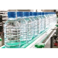 Quality SUS304 1000BPH Mineral Water Bottle Packing Machine 24 Heads for sale