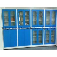 Quality 1.8m Height Small Steel Storage Cupboards 1.0mm Thickness Material With PVC Handles for sale