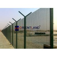 """Quality PVC Powder Coated, Wire Mesh Security Fencing 3"""" X 0.5"""" X 8 Gauge for sale"""