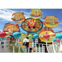 Quality 6 Cabins Rotating Amusement Park Ferris Wheel With Galvanized Steel Material for sale