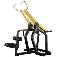 Quality Professional Yellow Hammer Strength Plate Loaded Gym Equipment / Pull Down Machine 152kg for sale