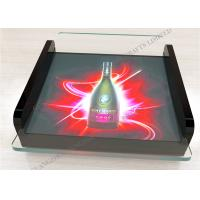 Best Battery Plastic Acrylic Coin Tray Led Display For Promotion wholesale
