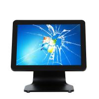 Quality All In One Capacitive Pos System Touch Screen Monitor J1900 I5 With VFD 3G Wifi Aluminum Base for sale