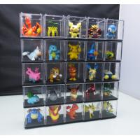 Quality Professional  Customized Clear Plastic POS Display Box For Cartoon / Toy for sale
