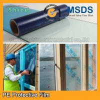 Quality Uv Blocking Window Glass Covering Film , Scratch Resistant Film For Glass Anti - Aging for sale