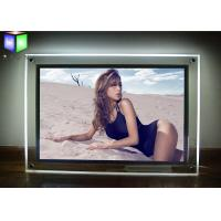 Quality Wall Mounted Custom LED Light Box Sign Panels Picture Frame For Advertising for sale