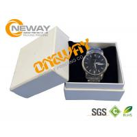 Best Printed Custom Packaging Boxes Elegant Watch Gift Paper Box With Lid wholesale