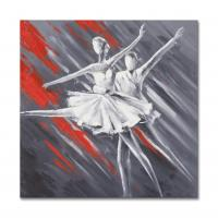 Abstract Dancing Girls Paiting Artwork size in 60X60CM