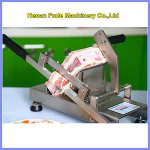 Quality manual meat slicer, hot-pot restaurant frozen meat slicer, beef slicing machine for sale