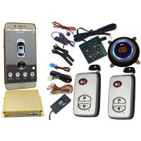 China Smartphone Controlled GSM Car Alarm System With Remote Start Phone App on sale