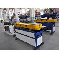 Quality Automatic Single Wall Corrugated Pipe Extrusion Line , Corrugated Pipe Making Equipment for sale