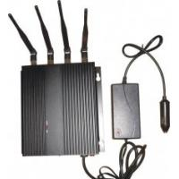 Buy 3G 33dBm Car Cell Phone Signal Jammer Blocker EST-808F1 With 4 Antenna at wholesale prices