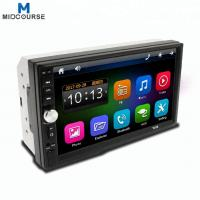 Quality Universal 7 Inch 2 Din double din Touch Screen Bluetooth Car Stereo screen mp5 DVD player for sale