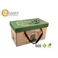 China Luxury Printed Packaging Boxes , Custom Printing Corrugated Shipping Boxes on sale