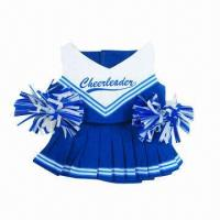 China Cheerleader Doll Outfit, Customized Teddy Bear Outfit on sale