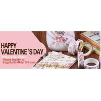Buy cheap HAPPY VALENTINE'S DAY SERIES WASHI TAPE,Dia3.7cm Animal Flower Whale Washi Tape from wholesalers