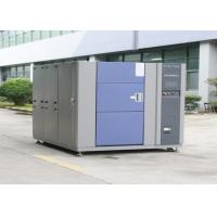 Quality Vertical Thermal Shock Chamber With Separate Hot And Cold Cycling Temperature Zones for sale