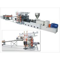 China PVC Paint Free Plate and Foamed Plate Extrusion Line on sale