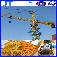 China tower crane manufacturers 4T JT4808 good use tower crane price on sale
