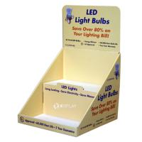 Quality Promotional Simple Pdq Retail Counter Display Stands For Led Light Bulbs for sale